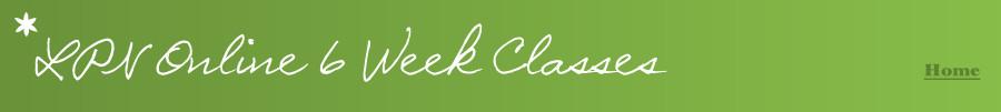LPN online 6 week classes | LPN online classes